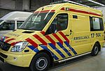 New ambulances for the City of Rotterdam
