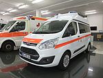 ON SALE:<br> Miesen Ambulance on Ford Transit Custom Trend 330L