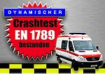 Crash-test of Mercedes Benz Sprinter successfully completed!