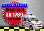 Crash-test series of Volkswagen T5 successfully completed!