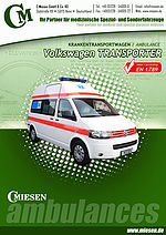 VW Transporter Ambulance